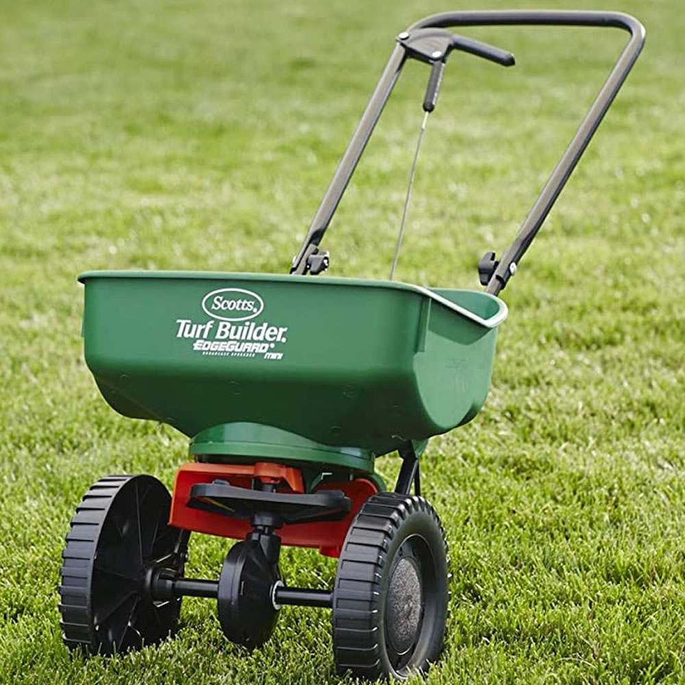 purchase online fertilizer spreader scotts near me
