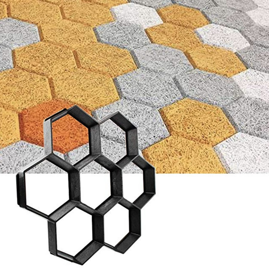 where to buy hexagonal paving stone mold