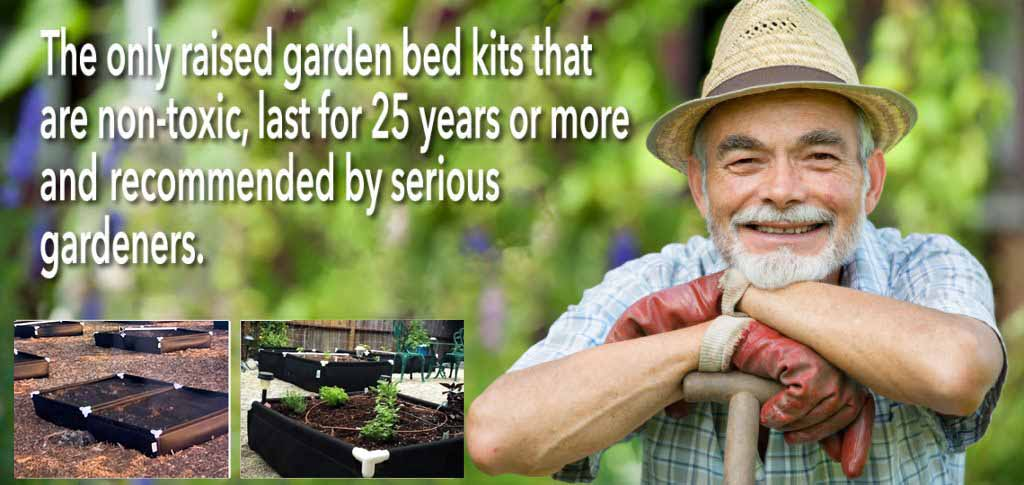 breathable raised garden bed