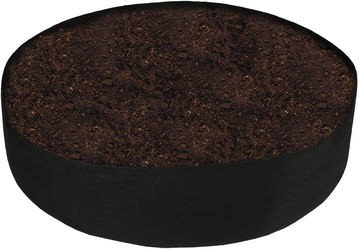 buy round raised garden bed online