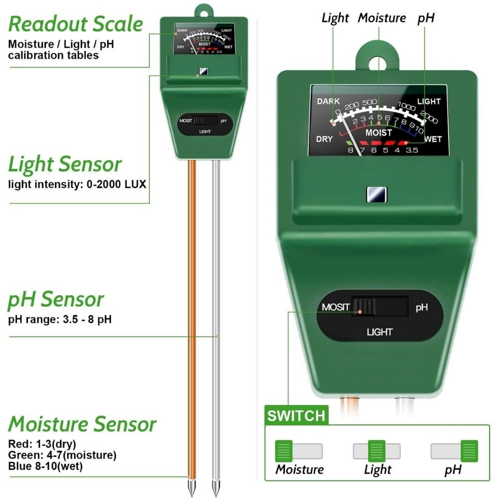 digital soil nutrient tester